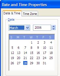 Boring Calendar