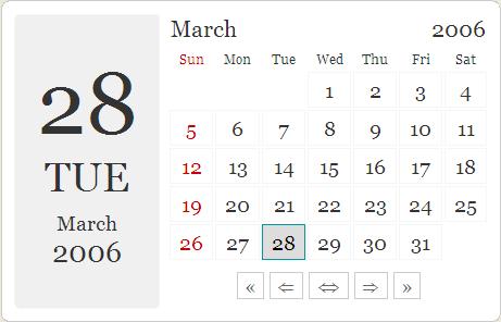 Pleasing Calendar