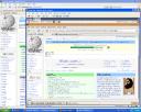 Firefox showing TeWiki in Ubuntu on XP