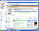 Firefox showing TeWiki correctly in Ubuntu on XP